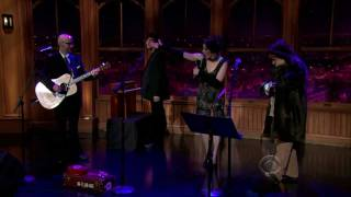 Amanda Palmer - Science Fiction/Double Feature on Craig Ferguson 10-31-11