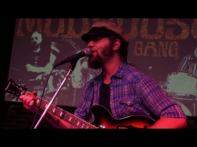 Mudhouse Gang - Frannie's Blues (Patrick Sweany cover) - live at Jupiter Studios 10-6-17