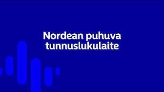 Nordean puhuvan tunnuslukulaitteen käyttöönotto | Nordea Pankki