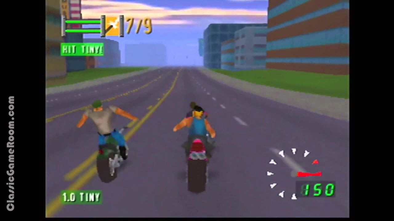 classic game room road rash 64 review for n64 youtube