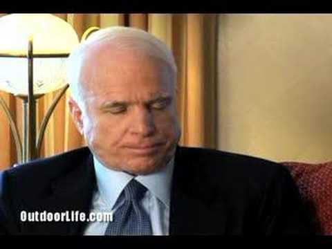 John McCain explains why sportsmen should vote for him