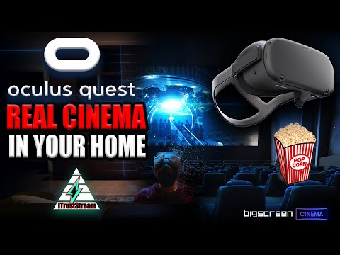 BIGSCREEN CINEMA BY OCULUS QUEST 🍿 VR THEATER IN YOUR HOME