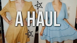 college clothing haul | sorority events + going out clothes