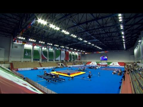 14th World Wushu Championships - Day 4 - Women's Jianshu and Men's Gunshu