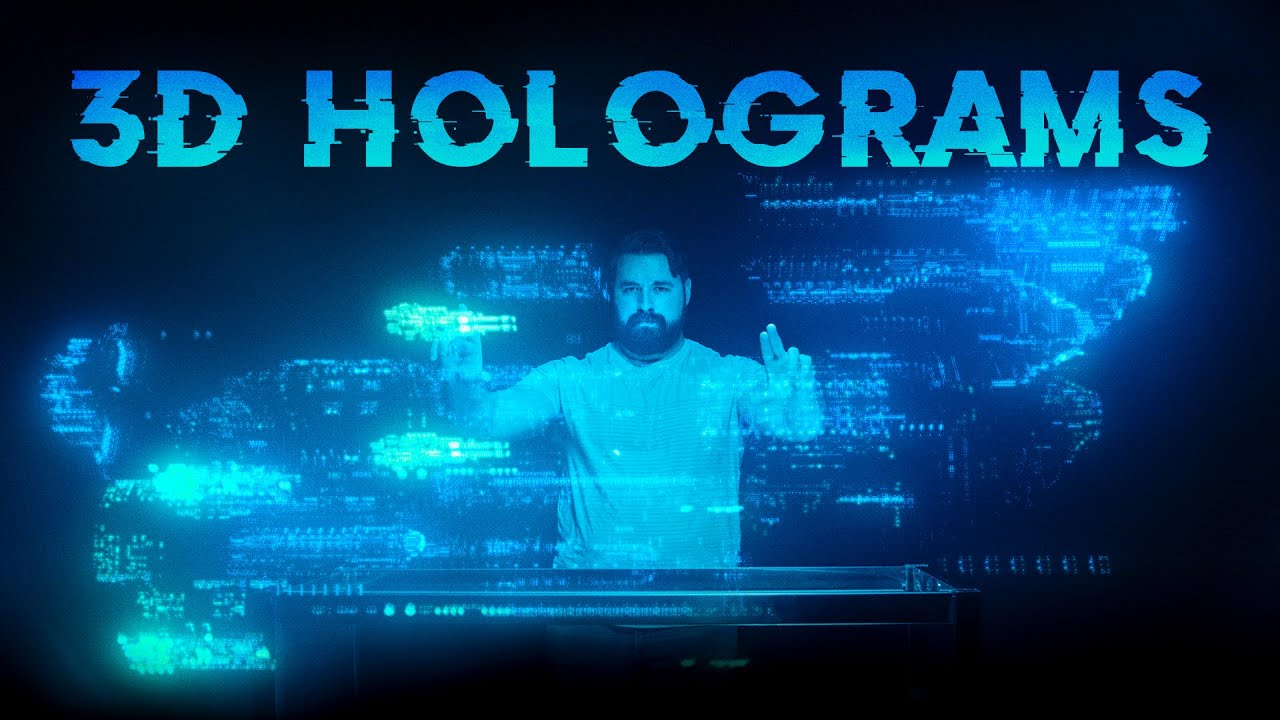 Add 3D Holograms to Your Scene