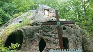 Пещерный Монастырь  с.  Розгирче, Львовская обл , Стрыйский р-н.  Что увидели интересного.