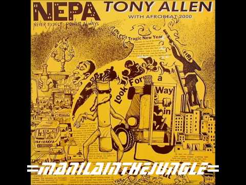 TONY ALLEN - N.E.P.A. (Never Expect Power Always) 1984