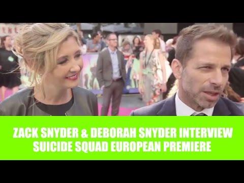 Zack Snyder On Justice League - Suicide Squad European Premiere (HD)