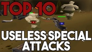 Top 10 Useless Special Attacks in OSRS