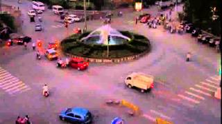 Beautiful Nehru Chowk Bilaspur C.G.