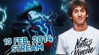 Dota 2 Stream: Na`Vi Dendi - Storm Spirit (Gameplay & Commentary)