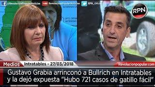 Grabia arrinconó a Bullrich y la dejó expuesta