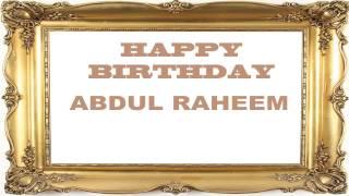 AbdulRaheem   Birthday Postcards & Postales - Happy Birthday