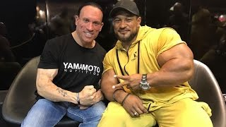 Roelly Winklaar Interview at FIBO Power 2017 (Powered by Yamamoto Nutrition)
