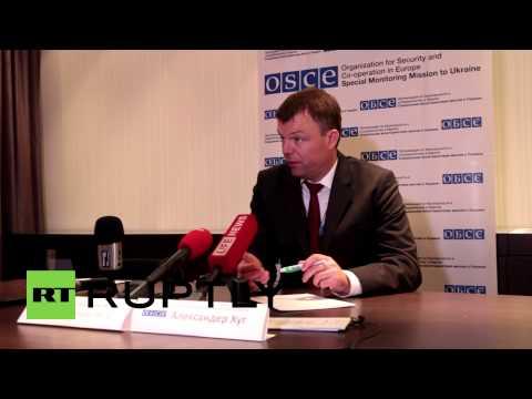 Ukraine: 'OSCE representative came under direct fire near Mariupol' - Alexander Hug
