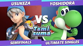 TAMISUMA 175 Semifinals - Usukeza (Hero) Vs. Yoshidora (Yoshi) Smash Ultimate SSBU