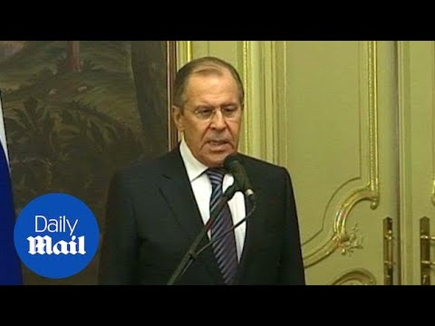 Sergei Lavrov announces closure of US consulate in St. Petersburg - Daily Mail
