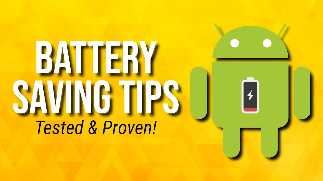10 Tips to Extend Your Android Phone Battery Life!