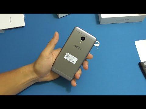 Посылка с AliExpress №103 - Meizu M3S mini Gray бюджетный мини Iphone по китайски
