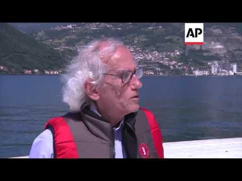 Italy - Artist Christo creates floating pier on lake | Editor's Pick | 7 June 16