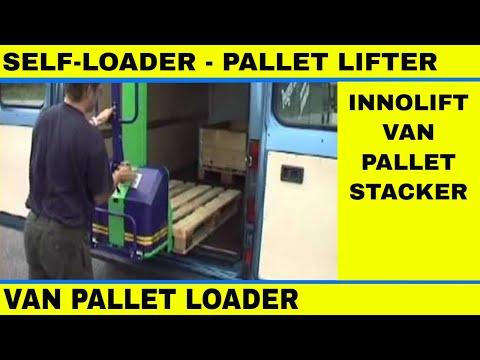 Self loader Pallet Lifter Pedestrian stacker for vans