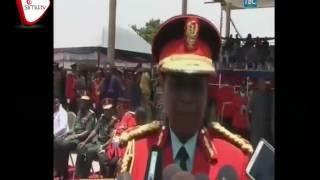 Gen  Davis Mwamunyange Aagwa Rasmi