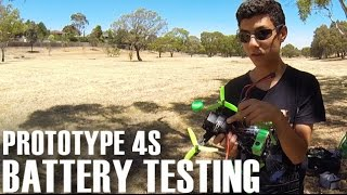 High 65C 4S Turnigy Graphene Pre Production Lipo Battery FPV Flight Test
