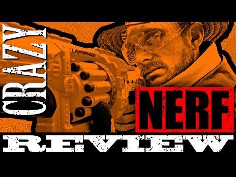 Crazy Nerf Review - Demolisher vs Lawbringer
