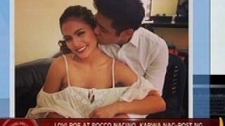24 Oras: Lovi Poe at Rocco Nacino, kapwa nag-post ng picture na sweet sila sa isa't