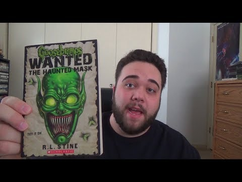 Goosebumps: Wanted: The Haunted Mask - Book Review
