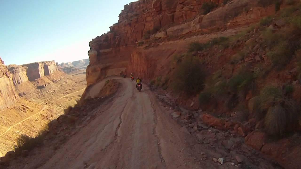 White Rim Trail - Descent - YouTube
