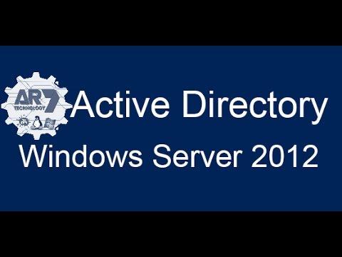 Usuários Grupos Unidades Organizacionais com Windows Server 2012