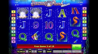 Dolphins Pearl Deluxe - BONUS ROUND 15 FREE SPINS