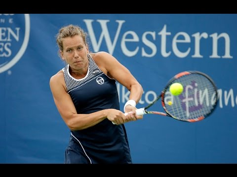 2016 Western and Southern Open First Round | Barbora Strycova vs Genie Bouchard | WTA Highlights