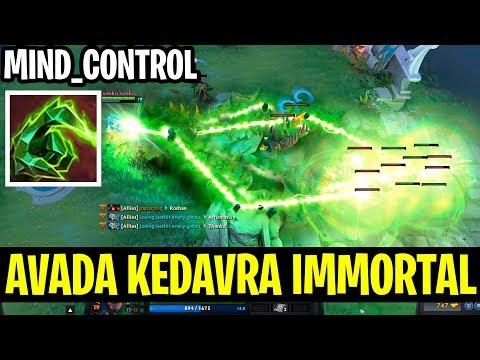 Mind Control Lion With Avada Kedavra Immortal Gameplay!! - Dota 2