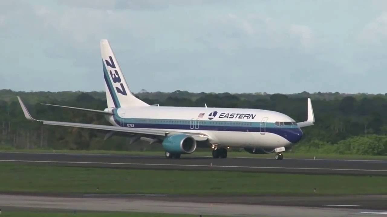 One Guyana Air Operated By Eastern Airlines Youtube
