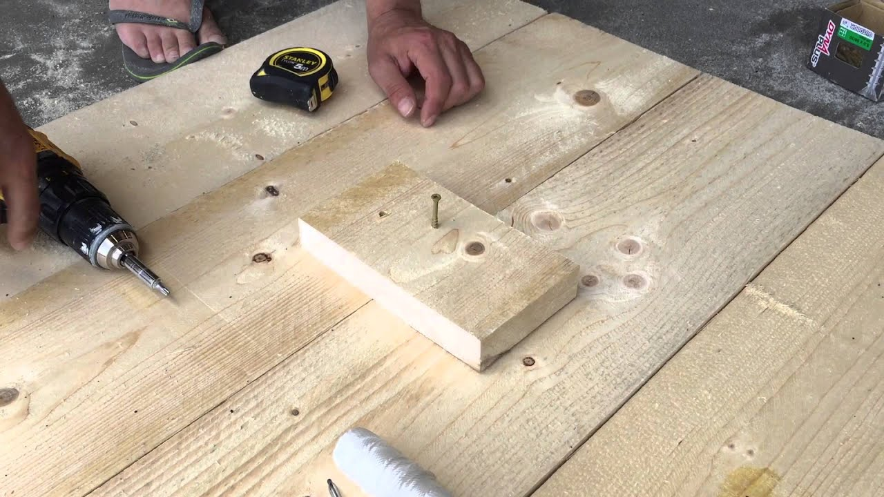 Uitgelezene Inklapbare statafel (van steigerhout) | voordemakers.nl YR-45