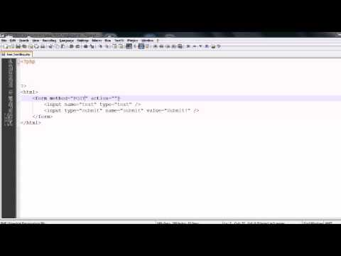 PHP Basics: HTML Forms & PHP Form Handling - YouTube
