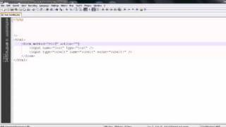 PHP Basics: HTML Forms & PHP Form Handling