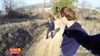 VIDEO: @MarkSteines and @CristinaCooks hiking before filming @homeandfamilyTV !!!