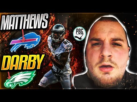 EAGLES TRADE JORDAN MATTHEWS TO BILLS FOR RONALD DARBY!? -- REACTION