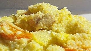 Кулеш с Курицей в Мультиварке кулинарный видео рецепт