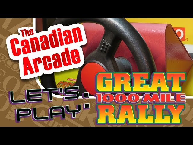 Lets Play: Great 1000 Mile Rally