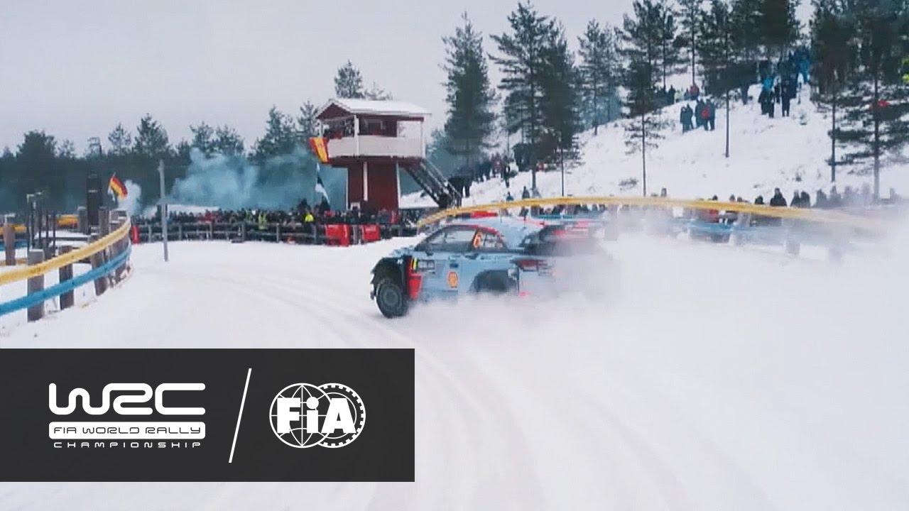WRC Rally Sweden DJI AERIAL ANALYSIS Paddon Vs Sordo - Wrc sweden 2016 map