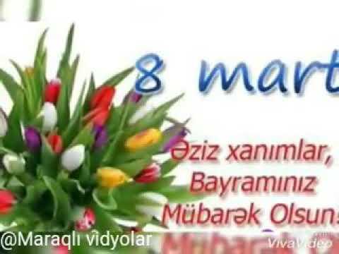 8 mart bayramınız mübarək