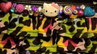 DIY: Blinged Hello Kitty Neon Clutch Thumbnail