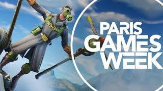 Fortnite a la PARIS GAMES WEEK - Contest passes combat season 7