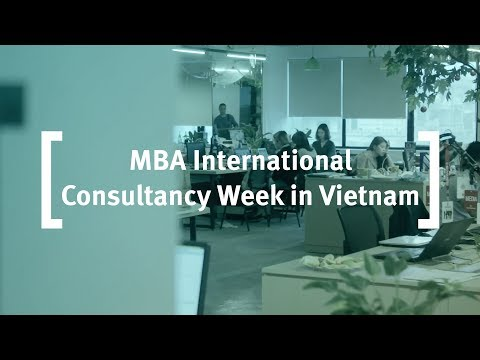 Cass: MBA International Consultancy Week in Vietnam