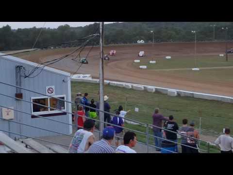 Steven Bowers Jr 6-25-16 heat race win at thunderhill speedway