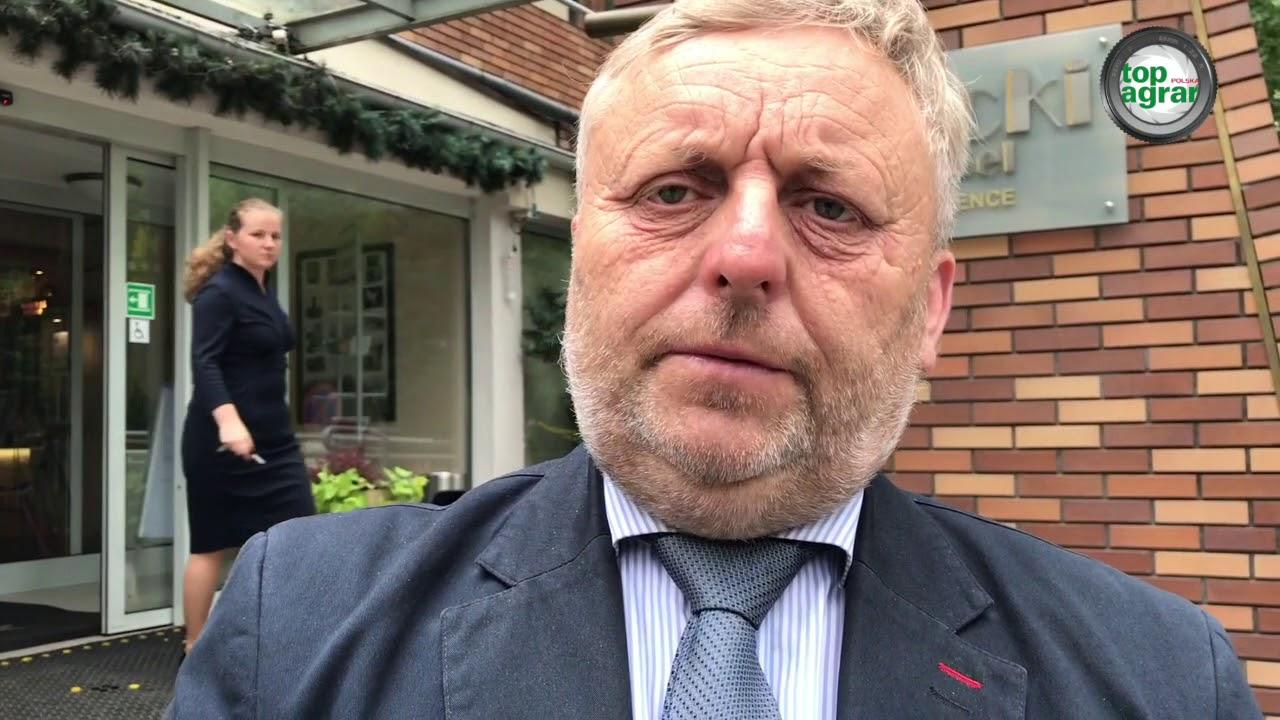 Wiktor Szmulewicz o posiedzeniu Krajowej Rady Izb Rolniczych w Spale